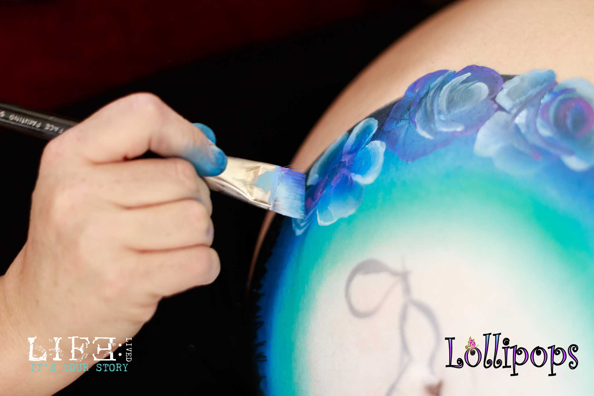 lincoln-bump-paint-maternity-photographer-lollipops-1