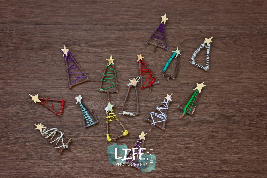 twig christmas tree crafts