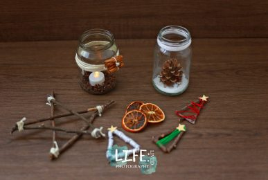 four natural christmas crafts